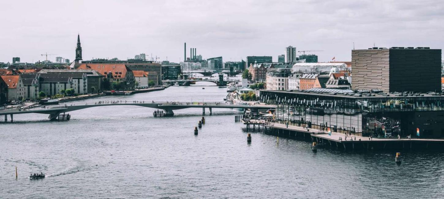 Inner habour bridge and the The Royal Danish Playhouse